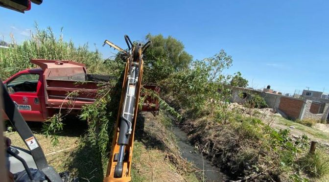 Gto: Realizan limpieza a canales de aguas residuales en Acámbaro (El Sol del Bajío)