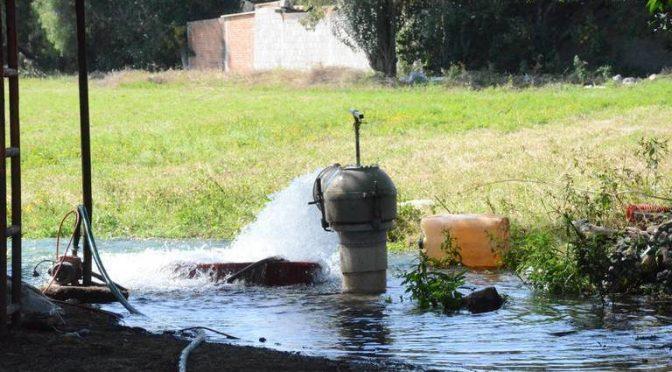 Hidalgo-Alertan de escasez de agua en Hidalgo. (EL SOL DE HIDALGO)