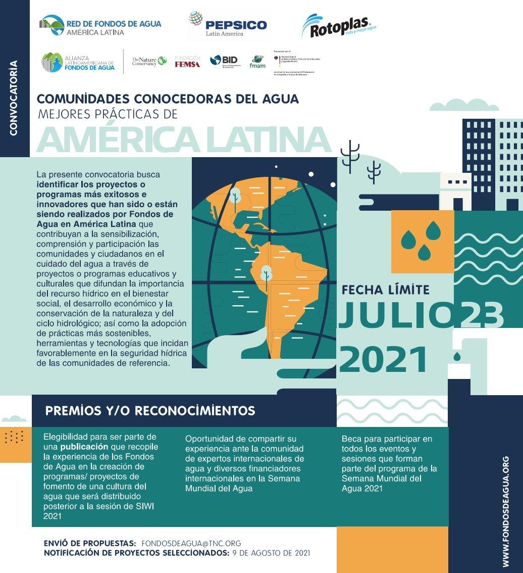 """""""Comunidades conocedoras del agua: mejores prácticas de América Latina"""" (Alianza Latinoamericana de Fondos de Agua)"""