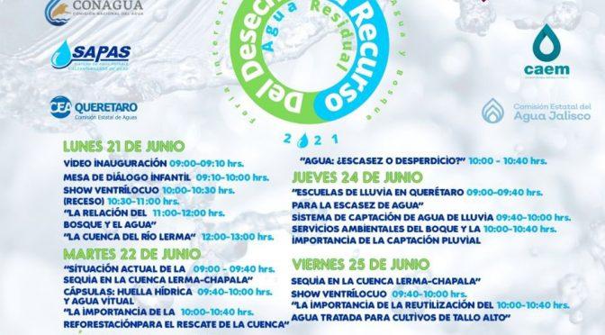 """Feria Interestatal de Cultura del Agua y Bosque """"Del desecho al recurso""""  (Consejo de Cuenca Lerma Chapala)"""