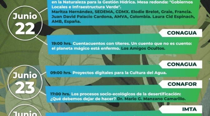 Cuarta jornada rumbo al Festival Nacional por el agua y los bosques (SEMARNAT-IMTA-CONAGUA-CONAFOR)