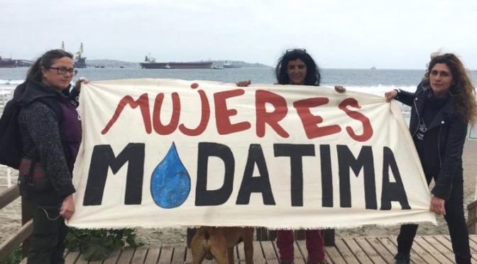 Chile-La lucha de las Mujeres Modatima en Chile es vital, igual que el agua que defienden (Newsweek México)