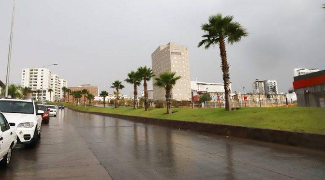 Sistema de descarga pluvial ha funcionado adecuadamente ante lluvias (El Sol de San Luis)
