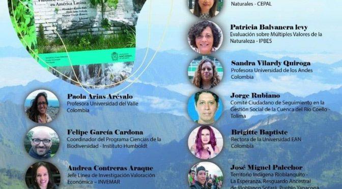 """Lanzamiento virtual del libro """"Hacia una valoración incluyente y plural de la Biodiversidad y los Servicios Ecosistémicos"""" (Centro de Investigaciones para el Desarrollo)"""