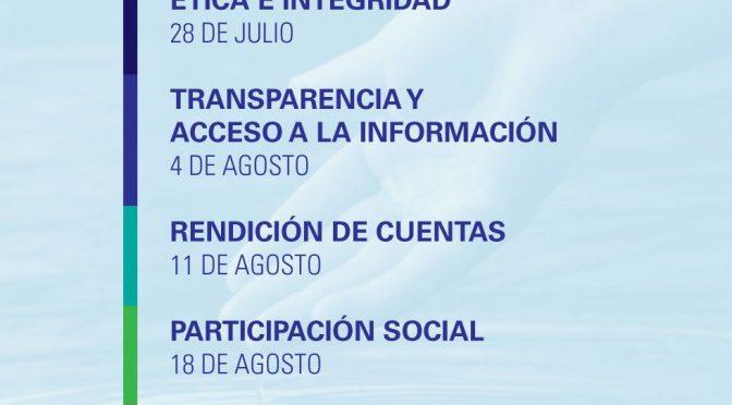 """Ética e Integridad-Serie de Webinars """"Medidas anticorrupción"""" (Red del Agua UNAM- UNESCO)"""