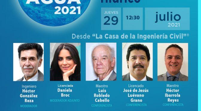 Segundo Foro del Agua 2021 – Importancia de la Planeación en el Sector Hídrico(CICM)