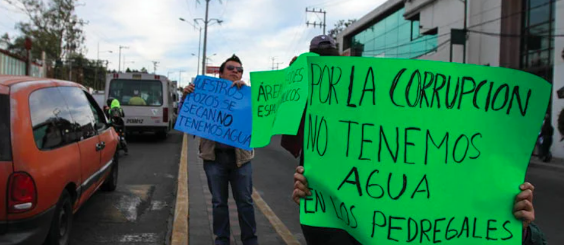 CDMX – Agua pública, autoridades no cumplen con derecho (Reporte Indigo)