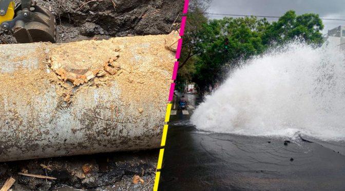 Ciudad de México-Fuga en miramontes afecta a 23 colonias de Coyoacán (Sopitas)