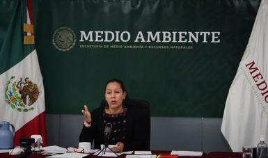 México – Informa Semarnat a diputados de la Comisión de Medio Ambiente sobre avances en temas prioritarios (Gob.mx)