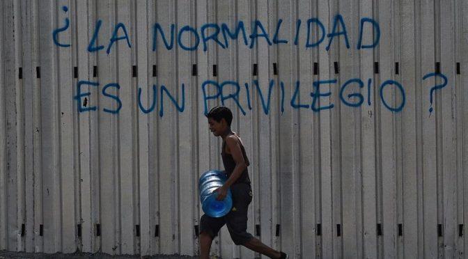 Venezuela – Se agota de sobrevivir sin agua (El agora diario)