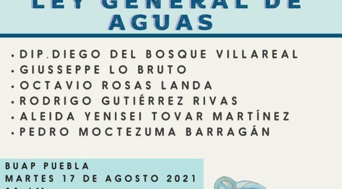 Rueda de Prensa – Ley General de Aguas: Propuesta de Proyecto de Dictamen y Articulado (Agua para Todxs)