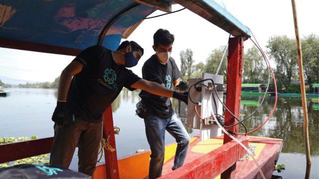 CDMX-Científicos utilizan 'nanoburbujas' para limpiar los canales de Xochimilco (Forbes)