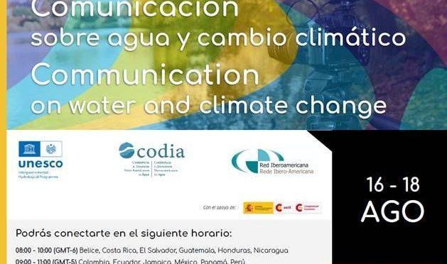 Curso virtual – Retos y tendencias de la comunicación pública sobre agua y cambio climático. (UNESCO)