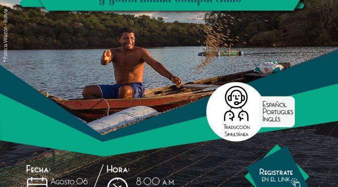 Webinar – Análisis de experiencias de gestión y gobernanza compartidas (Visión Amazónica)