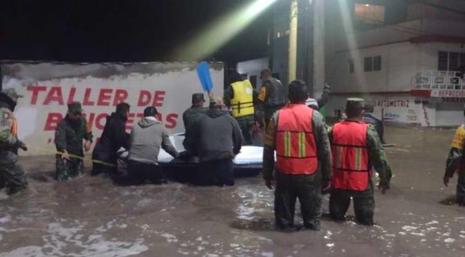 México – Sacmex y Conagua preveían inundación en Tula con operación TEO (Milenio)