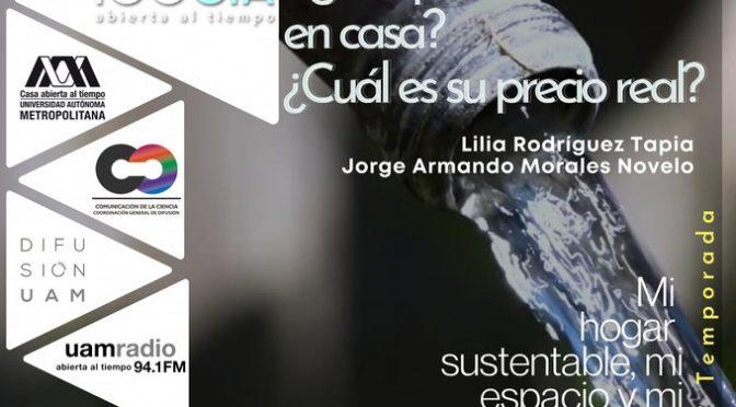Platica – Especialización en Economía y Gestión del Agua (UAM Radio)