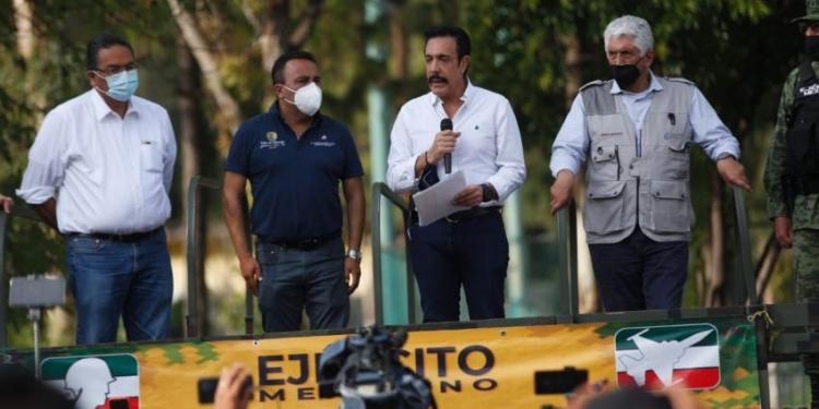 México – Las inundaciones son causa de las aguas residuales del Valle de México: Omar Fayad (Al Momento)