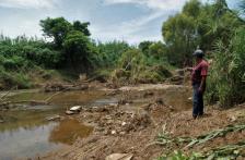 Tehuantepec – Abandono convirtió al río Los Perros en un riesgo latente de inundaciones para pueblos del Istmo de Oaxaca (El Universal Oaxaca)