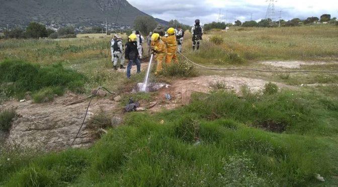 Tepeapulco – Vigilan calidad del agua tras derrame de hidrocarburo (El Sol de Oaxaca)