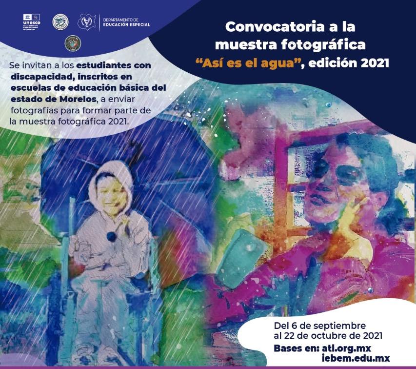 """Convocatoria – Muestra fotográfica """"Así es el agua"""" (ATL)"""
