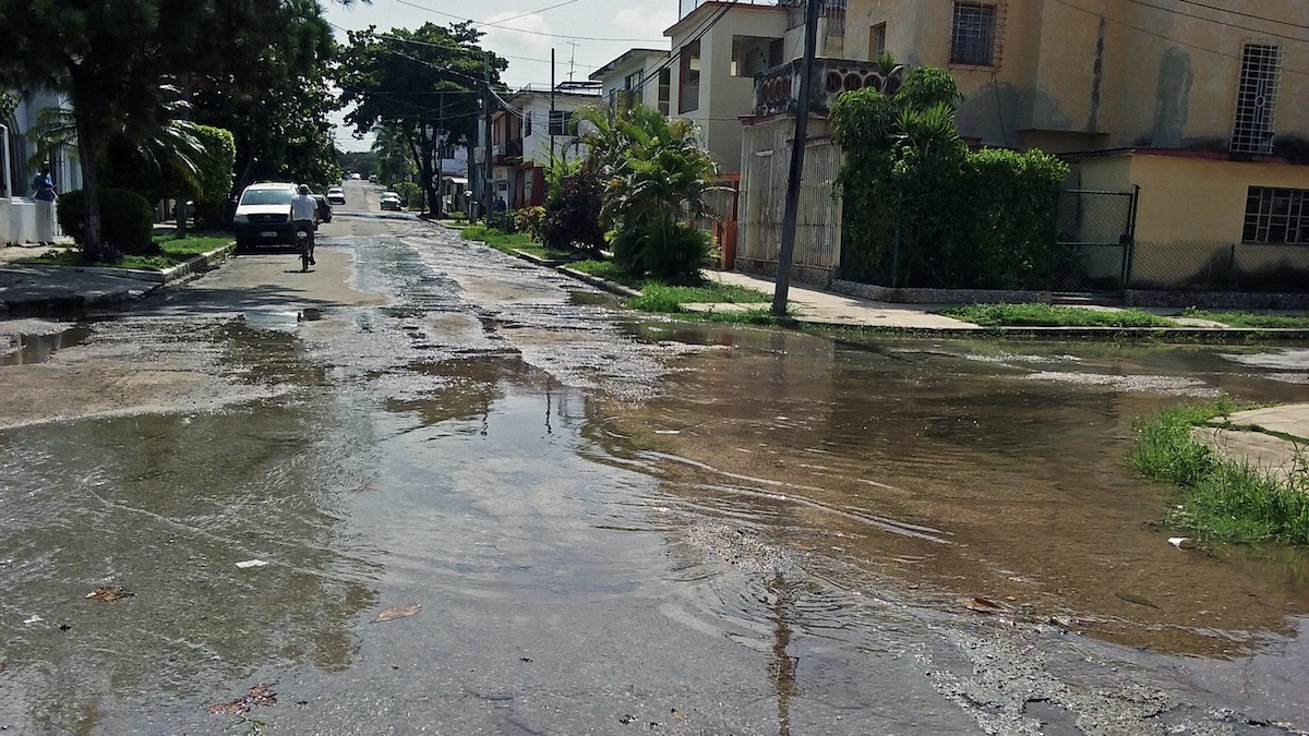 Cuba – La Habana y el problema del agua en toda Cuba (Diario de Cuba)