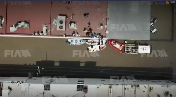 Hidalgo-Más de 31,000 habitantes afectados por inundaciones en Tula, Hidalgo (Azteca Noticias)