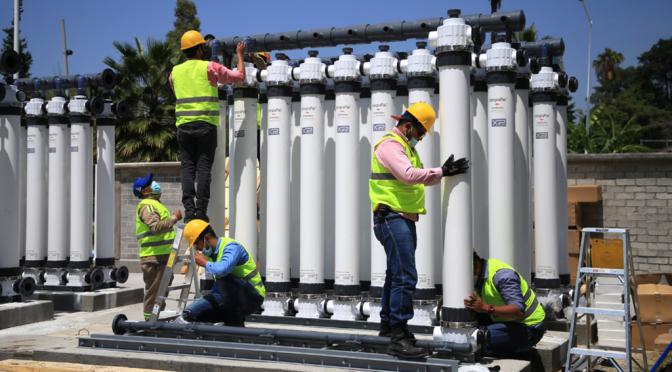 Guanajuato-Con tecnología china potabilizarán agua de la presa 'El Palote' (Publimetro)