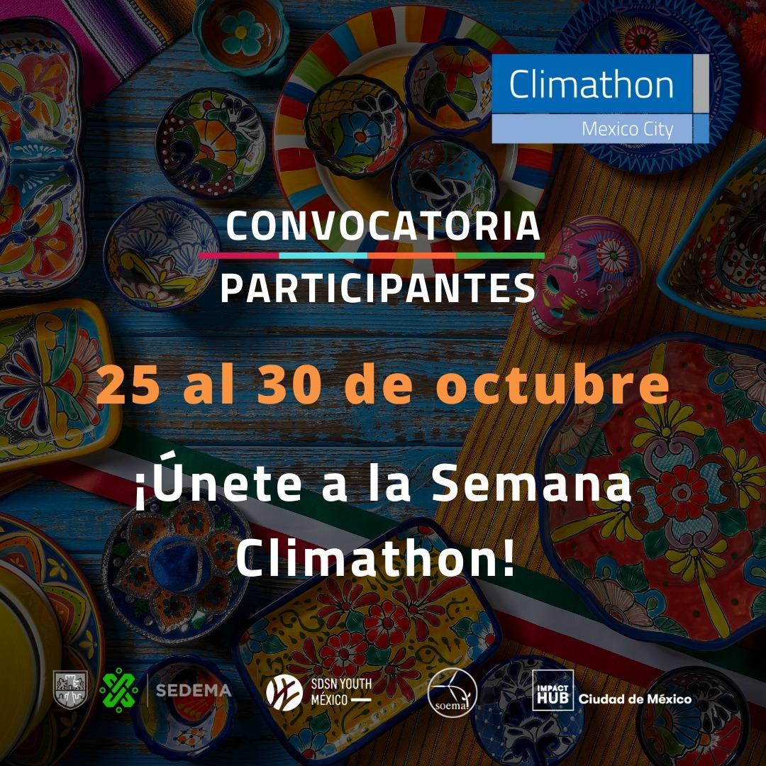 Convocatoria – Semana Climathon