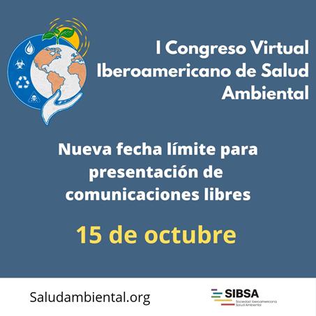Congreso Virtual Iberoamericano de Salud Ambiental