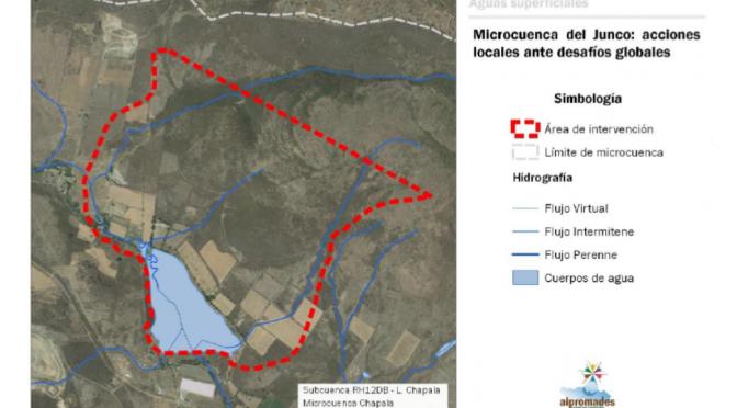 Jalisco-Buscan reforzar la resiliencia hídrica en la microcuenca de El Junco en Chapala, Jalisco (ONU Noticias)