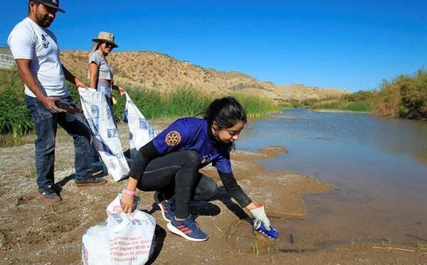 Mundo – Activistas se unieron para limpiar el Río Bravo (El Capitalino)